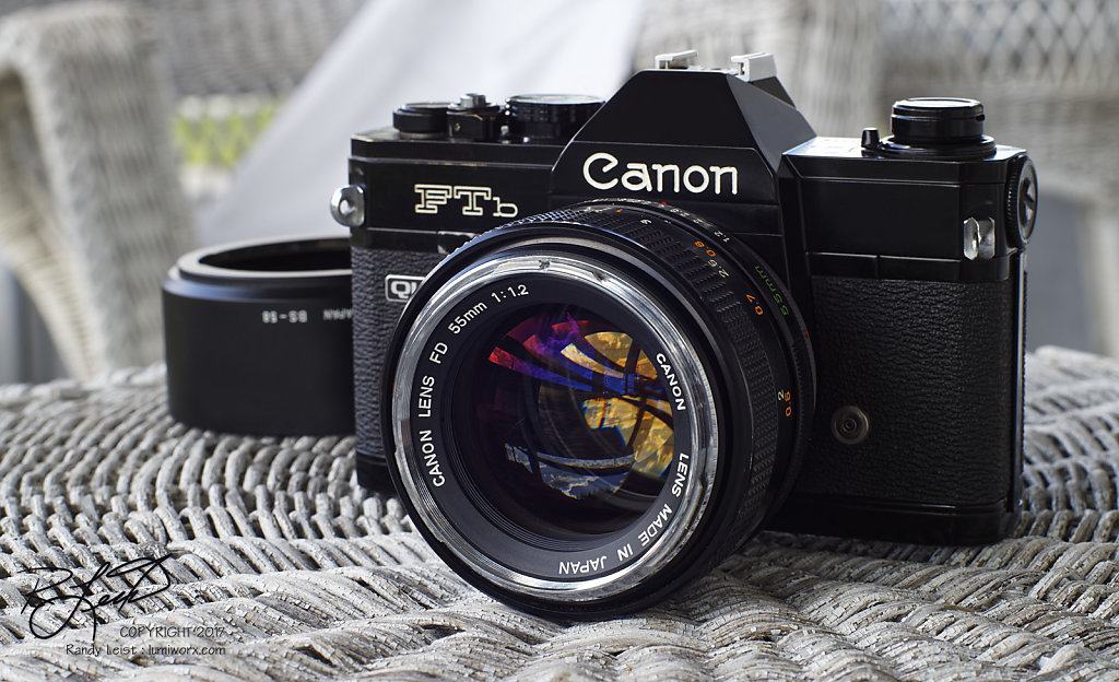Canon FTb-QL v1 w/ Canon FD 55mm 1.2