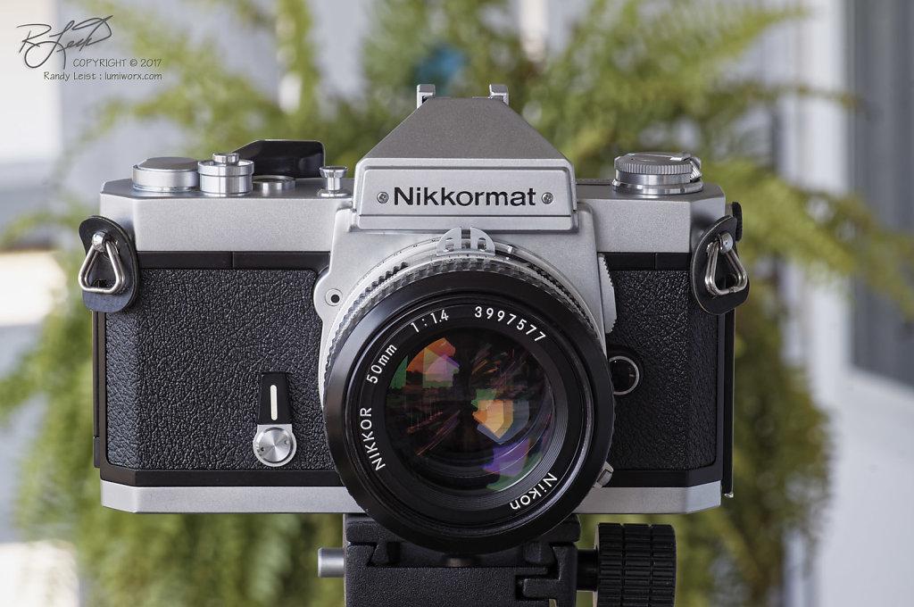 Nikkormat FT3 w/Nikkor 50mm f/1.4