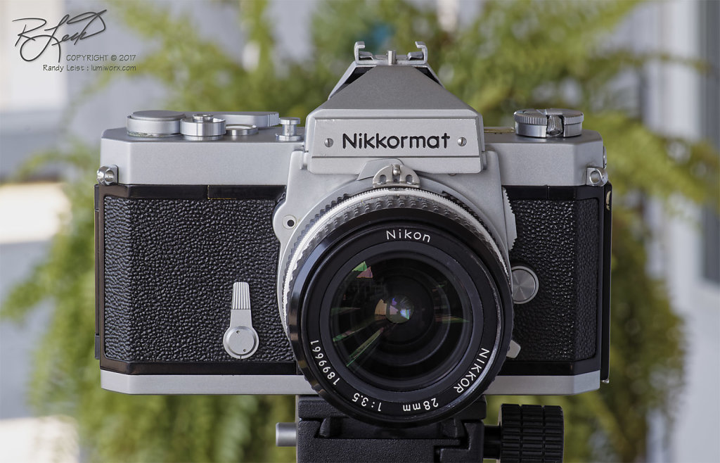 Nikkormat FTn w/ Nikkor AI 28mm f/3.5
