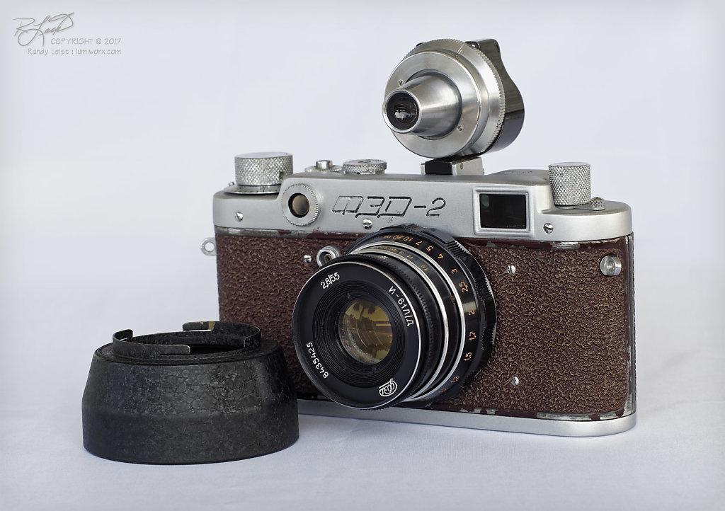 Fed-2b w/ 55mm Industar 61 L/D f/2.8