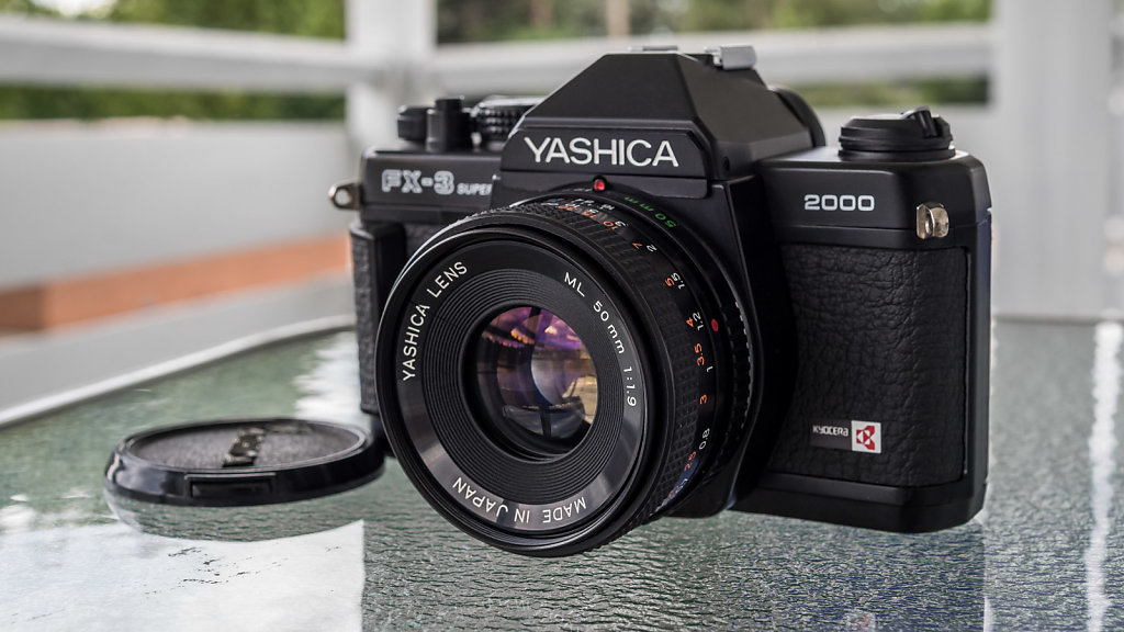 Yashica FX-3 Super 2000 w/ ML 50mm f/1.9