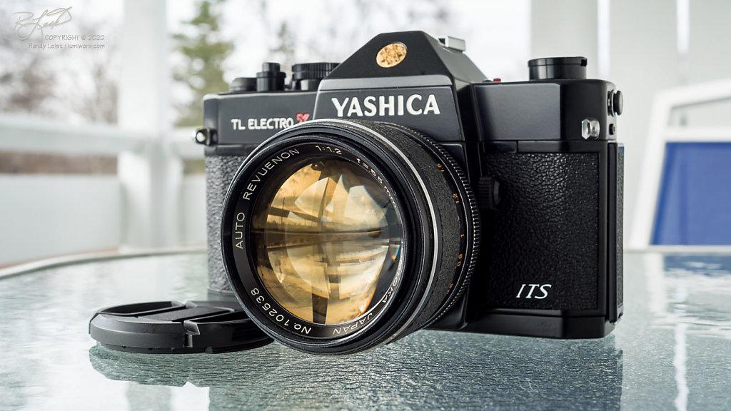 Yashica TL Electro X ITS w/ Auto Revuenon Tomioka 55mm f/1.2