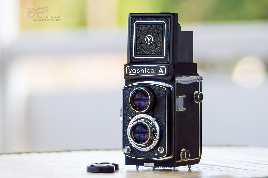 Yashica-A TLR - Final Version from 1969-ish