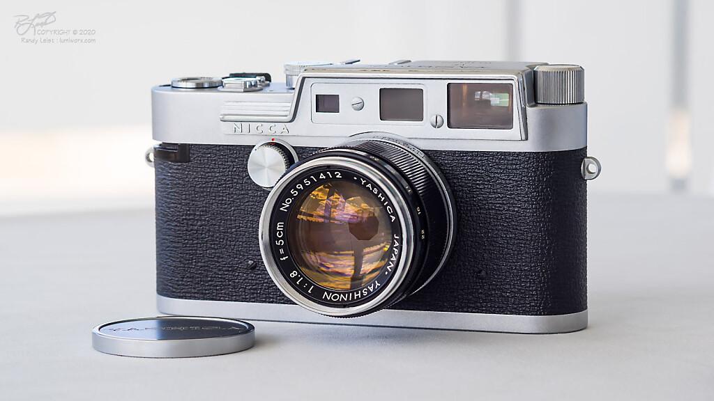A late 1950's Yashica YF w/ Yashinon 5cm f/1.8